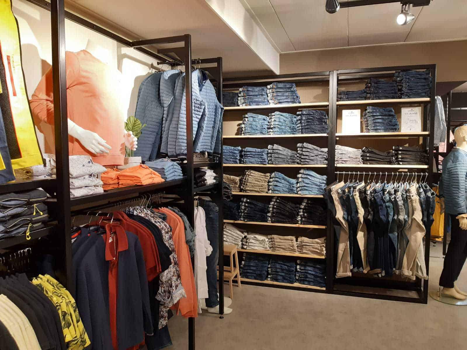 Frederiks mannenmode winkel jeans